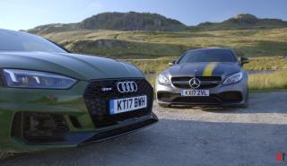 Audi RS 5 Coupé contra Mercedes-AMG C 63 S Coupé