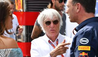 Bernie Ecclestone en el GP Austria