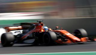 Fernando Alonso, en el GP México 2017