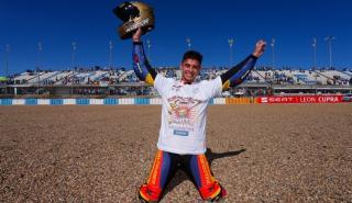 Marc García, campeón de Europa de Supersport 300