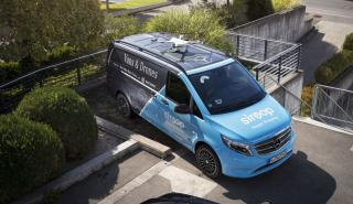 Mercedes Vito drone Siroop