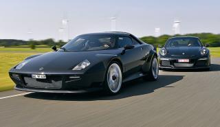 New Stratos vs Porsche 911 R
