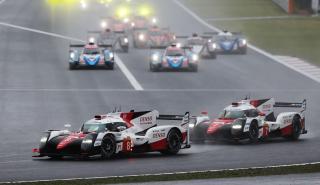 Toyota gana en Fuji