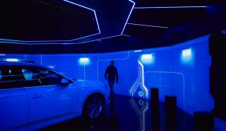 Audi e-tron room