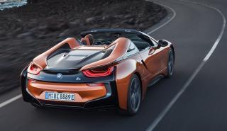 BMW i8 Roadster novedades