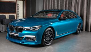 BMW M760Li Individual Long Beach Blue Coat