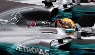 Mercedes F1 Hugo Boss