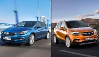 Opel Astra vs Opel Mokka X