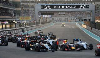 Salida GP Abu Dhabi 2016