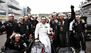 Fernando Alonso, en el GP de Rusia 2015