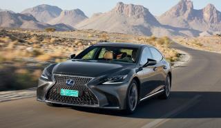 Prueba Lexus LS 500h 2018