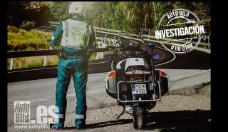 Lo que cobra un Guardia Civil de Tráfico