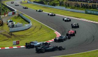Salida GP Japón F1 2017
