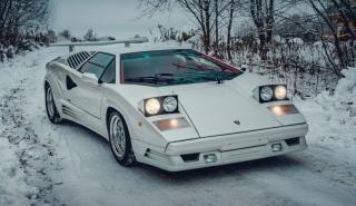 Subasta Lamborghini Countach 25 Aniversario 1991
