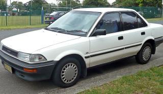 Toyota Corolla histórico