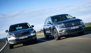 Al volante. Comparativa: Skoda Kodiaq vs Volkswagen Tiguan Allspace