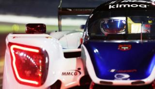 Alonso en test Daytona