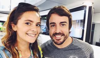 Fernando Alonso y Francesca Miechelin