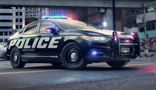 Coche patrulla de Ford