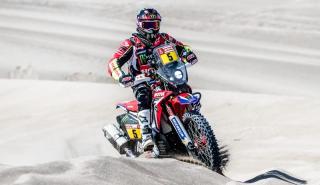 Joan Barreda, en la lucha por la victoria del Dakar 2018