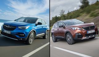 Peugeot 3008 vs Opel Grandland X