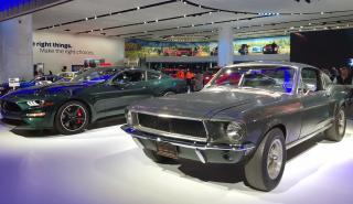 Salón de Detroit 2018: Mustang 2019 vs Bullitt 1968