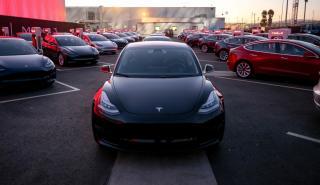 Tesla Model 3 prueba BMW