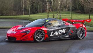 McLaren P1 GTR matriculado