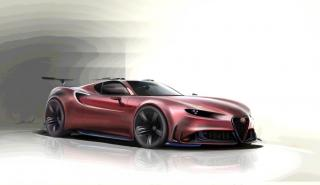 Alfa Romeo 4C concept by  Khashayar Jenabi