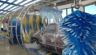 Coche autónomo y túnel de lavado