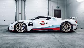 Ford GT con decoración Martini Racing