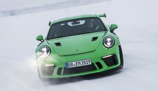 En un Porsche 811 GT3 RS 'facelift'... ¡Con Walter Röhrl!