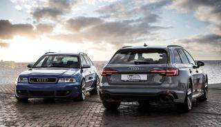 Audi RS 4 Avant B5 y B9