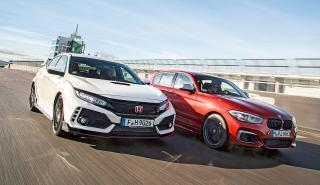 Honda Civic Type R vs BMW M140i