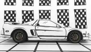 Honda NSX vinilo
