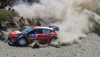 Loeb en el Rally de México