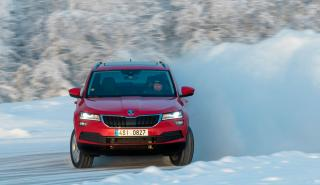 Skoda Karoq Winter Test
