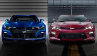 5 diferencias Chevrolet Camaro 2018
