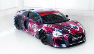 ABT Audi R8 Art Car