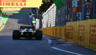 Alonso en el GP de Azerbaiyán