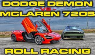 Dodge Demon VS McLaren 720S
