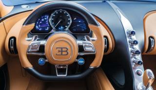 Interior del Bugatti Chiron