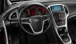 Interior del Opel Astra GTC