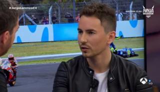 Jorge Lorenzo hablar sobre Márquez y Rossi en El Hormiguero
