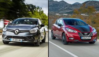 Nissan Micra vs Renault Clio