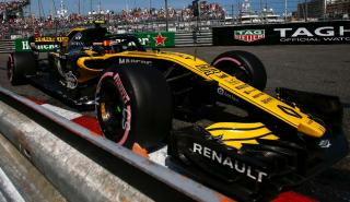 Carlos Sainz en el GP de Mónaco