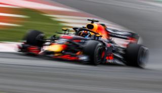 Daniel Ricciardo en el GP España 2018