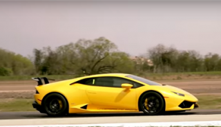 Un Lamborghini Huracan de 3.500 CV alcanza los 370 km/h en media milla