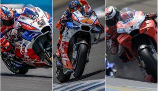 Lorenzo, Petrucci y Miller, por un puesto en Ducati oficial