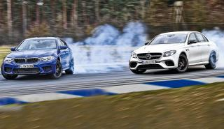 Mercedes AMG E 63 S vs BMW M5